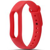 Цветные браслеты для фитнес-трекера Smart Band 2 (Красный)