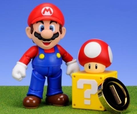 Супер Марио фигурки Марио и Тоад