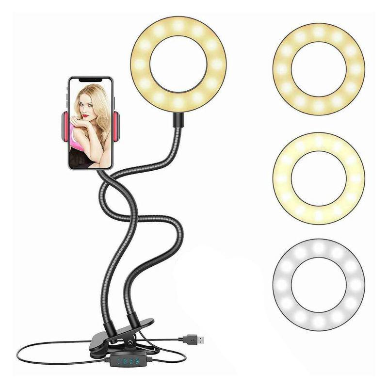 Гаджеты и hi-tech аксессуары Кольцевая светодиодная селфи лампа с держателем для смартфона koltsevaya-svetodiodnaya-selfi-lampa-s-derzhatelem.jpg