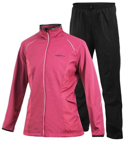 Женский костюм для бега Craft Active Wind Pink