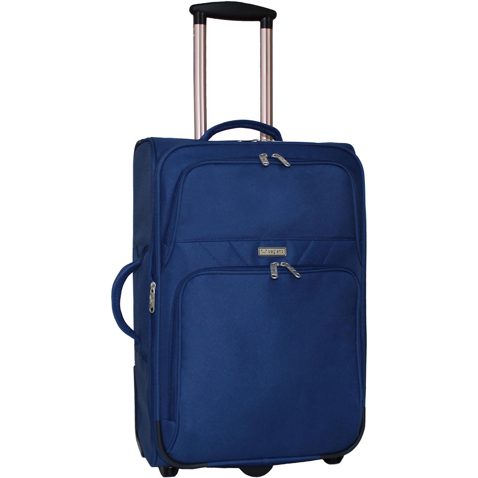 Дорожные чемоданы Чемодан Bagland Леон средний 51 л. Синий (003766624) IMG_3084.JPG