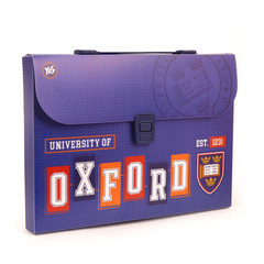 Папка-Qovluq plastik qulplu A4 Oxford blue 491445 YES
