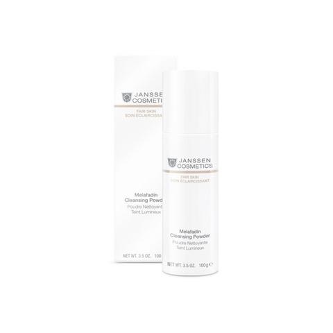 Осветляющая очищающая пудра ,Melafadin Cleansing Powder JANSSEN Cosmetics 60 г