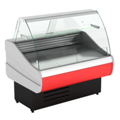 Холодильная витрина  CRYSPI OCTAVA  SN 1200 c полкой,  -6...+6  (выкладка 660 мм)