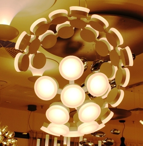 Chandelier Scopas LED by Artemide