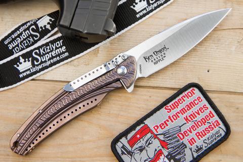 Складной нож CRKT Onion Ripple Bronze/Razor K406BXP