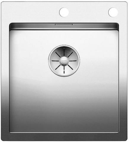 Кухонная мойка Blanco Claron 400-IF/A Durinox, нержавеющая сталь