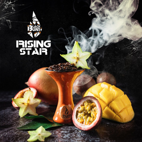 Табак Burn Black Rising Star 100 г