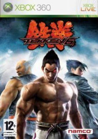 Xbox 360 Tekken 6 (русская версия)