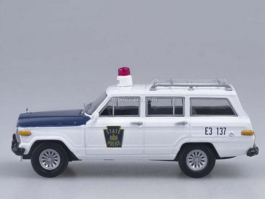 Jeep Wagoneer Police Pennsylvania USA 1:43 DeAgostini World's Police Car #39