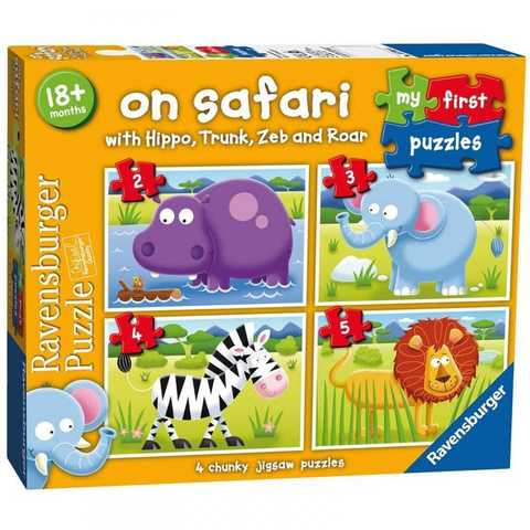 On safari my first puzzle     2/3/4/5p
