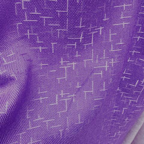 Блэкаут рогожка Штрихи фиолетовые оптом и на отрез. Ш-280 см. Арт. BLDJ-R205R