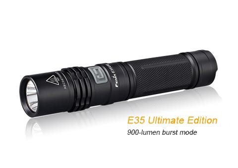 Купить Светодиодный фонарь Fenix E35 Ultimate Edition 900 люмен (модель 34000) по доступной цене