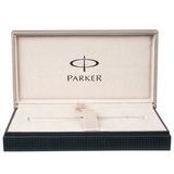 Перьевая ручка Parker Duofold F89 Black PT International перо F (S0690560)