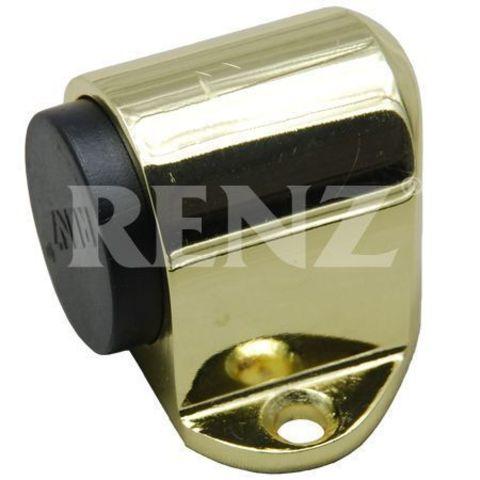 Фурнитура - Ограничитель Дверной напольный Renz DS 31, цвет латунь блестящая
