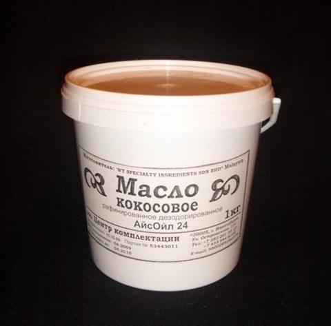 Кокосовое масло (рафинированное).