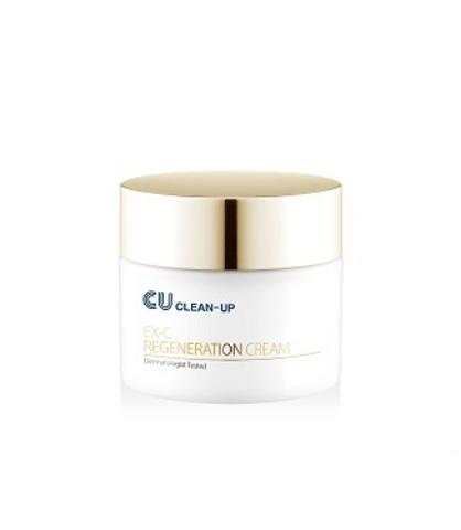 Регенерирующий Крем Для Чувствительной Кожи CUSKIN CLEAN-UP EX-C Regeneration Cream