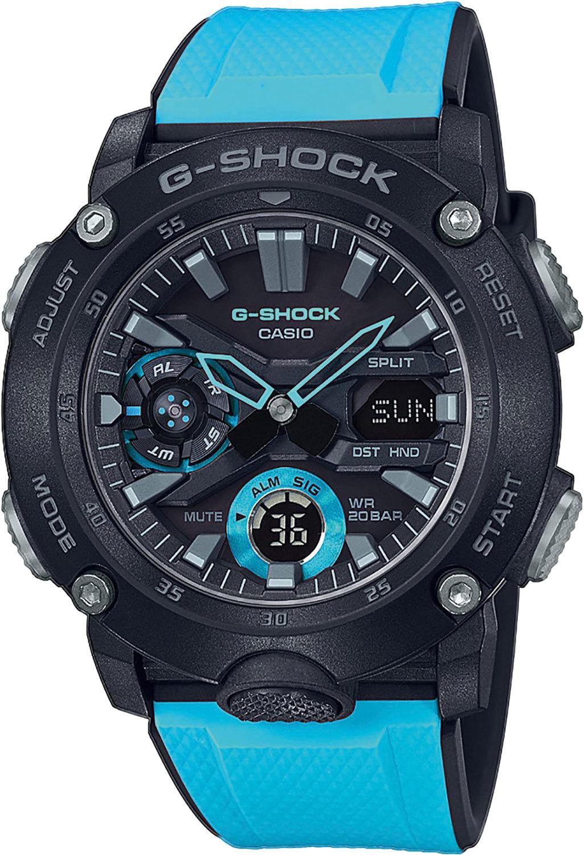 Часы мужские Casio GA-2000-1A2ER G-Shock
