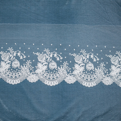 Кружево Ivory Lace - Колокольчики, широкое