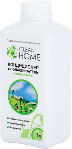 """Кондиционер-ополаскиватель """"Clean Home"""" аромат альпийских лугов 1л"""