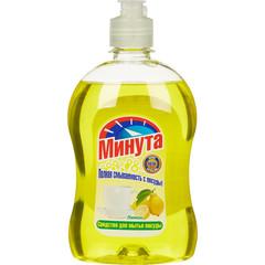 Средство для мытья посуды МИНУТА Лимон 500мл