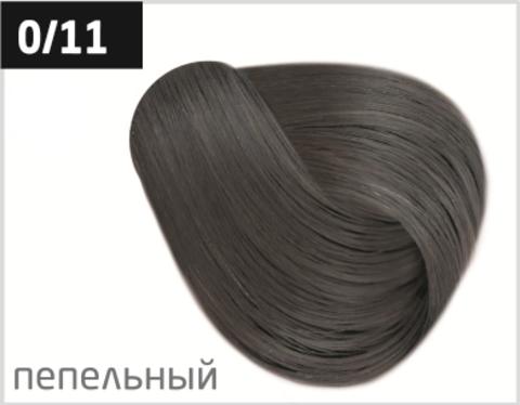 Ollin color перманентная крем краска для волос
