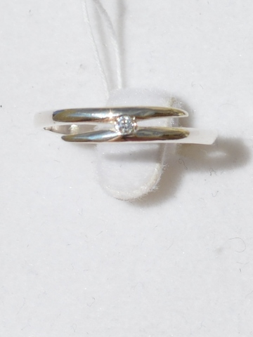 Игла (кольцо из серебра)