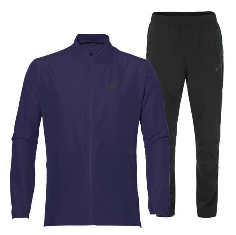 Костюм для бега мужской  Asics Woven purple