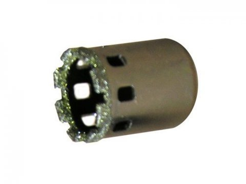 Коронка д/керамогранита ф57 мм алмазная мокр. рез