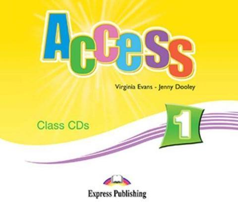 Access 1. Class Audio CDs. (set of 3). Beginner. Аудио CD для работы в классе.