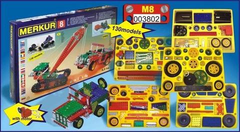 Merkur М-3802 Металлический конструктор MERKUR 8
