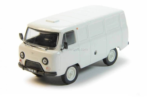 UAZ-3741 white 1:43 DeAgostini Auto Legends USSR #197