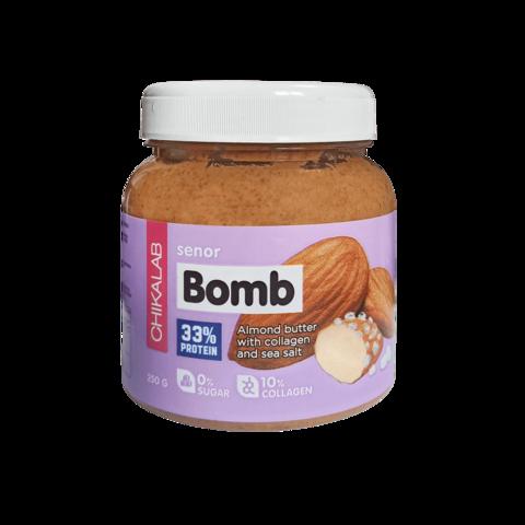 Паста Chikalab Senor Bomb Миндальная с морской солью, 250 гр