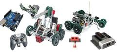 Образовательный модуль для изучения основ робототехники. Конструирование. Электроника и микропроцессоры. Информационные системы и устройства.