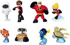 Disney Pixar Mini Figurines 8-Piece Gift Set Exclusive