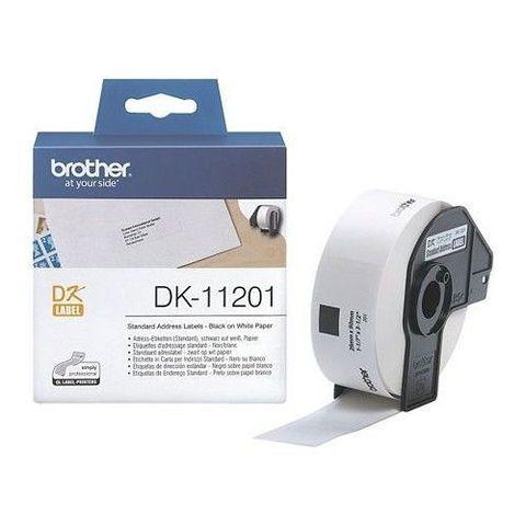 Стандартные адресные наклейки Brother DK-11201 (29 x 90 мм) 400 шт