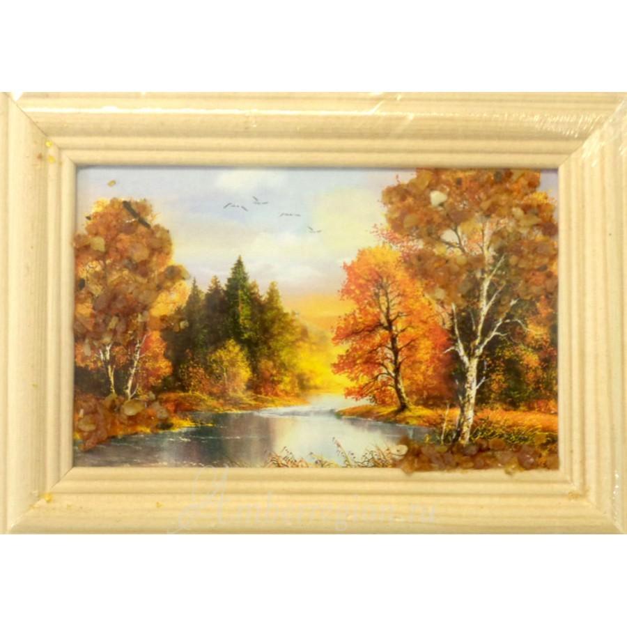 Картины в ассортименте, 8*12 см (горизонтальные)