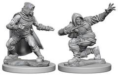 Pathfinder Deep Cuts Unpainted Miniatures - Human Male Rogue