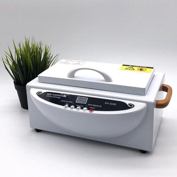 Мебель и оборудование для тату салона Сухожаровой шкаф Sanitizing Box KH-360B для дезинфекции инструментов Сухожаровой-шкаф-KH-360B-1.jpg