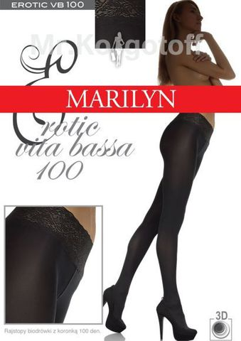 Колготки Marilyn Erotic Vita Bassa 100