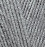 Пряжа Alize Lanagold 21 серый меланж
