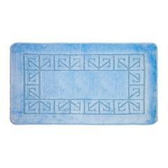 Коврик для ванной BANYOLIN 60х100 см ворс, светло-голубой