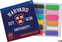 Пластилин-Plastilin 12rəng Harvard 540444 YES