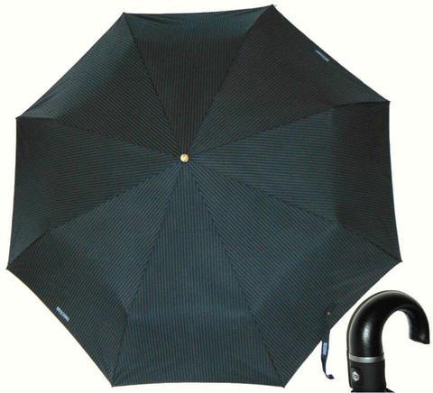 Купить онлайн Зонт складной Moschino 8509-1 Pinstripe Topless в магазине Зонтофф.