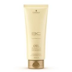 Шампунь блеск золотое сияние для тонких волос Schwarzkopf Bonacure Oil Miracle Light Oil Shampoo 200 Мл
