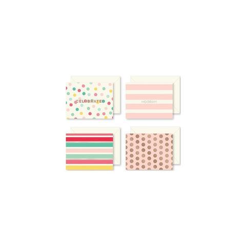 Набор открыток  из коллекции Hooray Cards W/Envelopes by MME