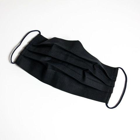 Маска тканевая многоразовая (хлопок-спанбонд) черная