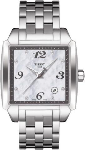 Купить Женские часы Tissot T-Trend Quadrato T005.510.11.117.00 по доступной цене