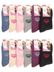 C1010 ЛАСТОЧКА носки детские (12шт.), цветные