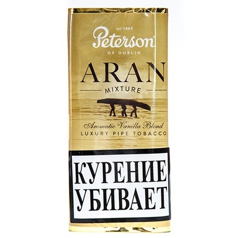 Табак Peterson Aran Mixture кисет (40 гр)